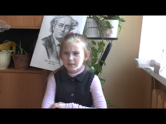 Изображение предпросмотра прочтения – ДарьяЗайцева читает произведение «Умом Россию не понять...» Ф.И.Тютчева