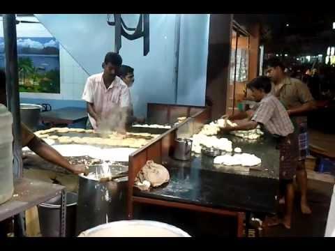 Tiruchirappalli, dosa-paratha