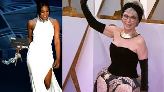 Tiffany Haddish, Rita Moreno Wear Recycled Dresses at the Oscars