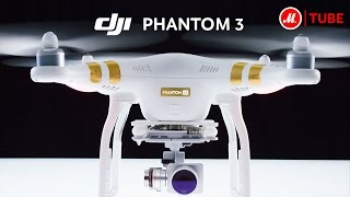 Квадрокоптер DJI Phantom 3: новый уровень видеосъёмок(, 2015-07-15T12:09:25.000Z)