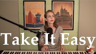 Take It Easy by Eagles (Piano Version) - Cover by Allie Farris - Live Take
