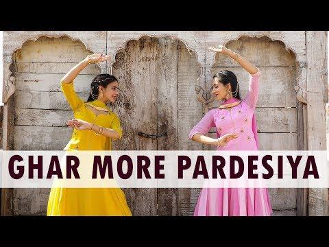 Ghar More Pardesiya Dance Cover | Vishaka Saraf Choreography | Alia Bhatt | Kalank | Madhuri Dixit