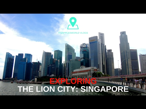 Travel Asia : Singapore Vlog - The Country of CULTURAL DIVERSITY
