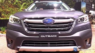2020 Subaru Outback Touring - Exterior and Interior Walkaround - Debut 2019 New York Auto Show