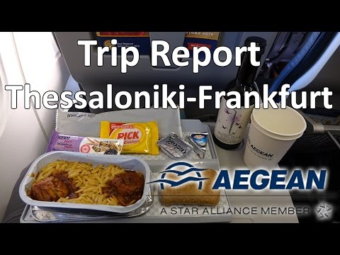 Trip Report : Aegean Airlines A321 | Thessaloniki to Frankfurt | Airbus A321 | SKG - FRA | A3 530