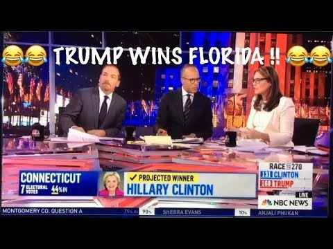 Trump wins Florida! *** Top 10 *** MOST enjoyable MSM reacti