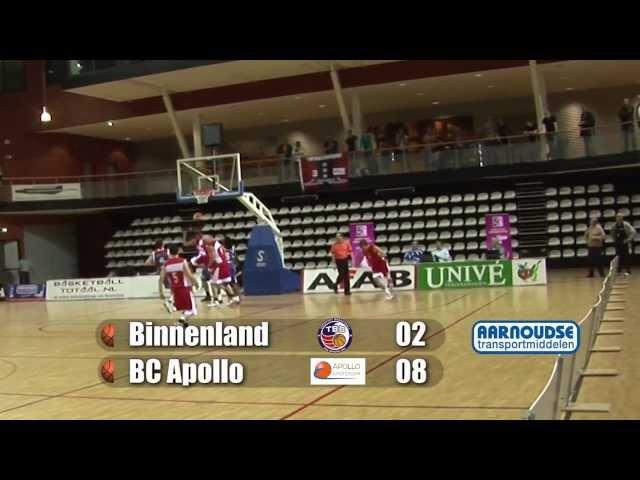 Finale Final 4 Promotiediv. Binnenland Heren 1 vs BC Apollo