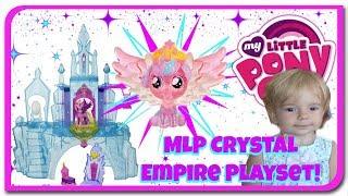 Castelul de clestar al Micilor Ponei.  My Little Pony MLP la Anabella Show