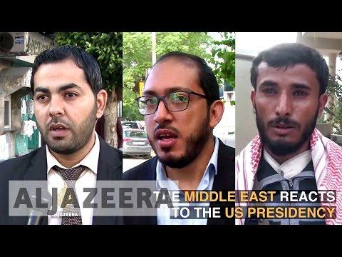 US election: Views from Gaza, Yemen and Tunisia