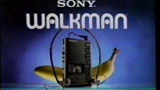 """1988 Sony Walkman """"Monkey"""" TV Commercial"""