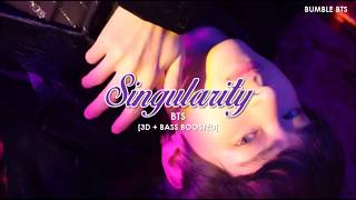 "[3D+BASS BOOSTED] BTS (방탄소년단) V - SINGULARITY (""TEAR"" COMEBACK TRAILER) | bumble.bts"