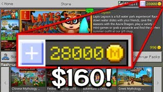 28,000 Coins in Minecraft Pocket Edition ($160)