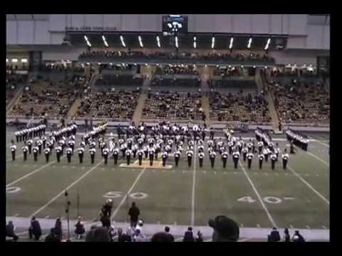 2015 University of Idaho Marching Band pre game and half time show