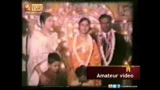 Actress Padmini at B Saroja Devi's Wedding Reception