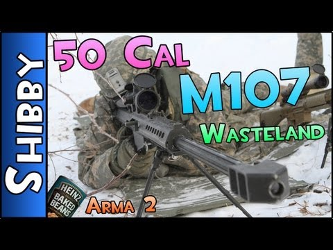 Day Z & ARMA - 50 CAL M107 WASTELAND (Sniper Rifle Gameplay Commentary)