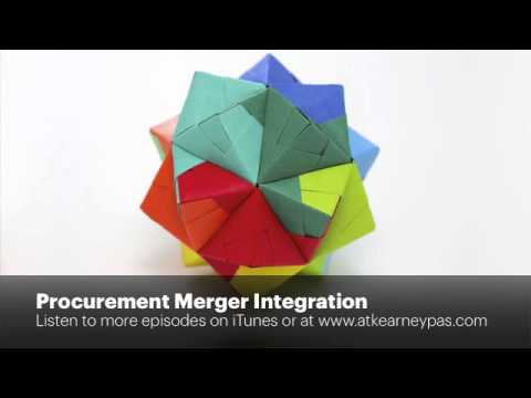 Procurement Merger Integration