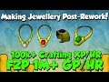 Low Level Money Making - Necklaces in F2P! [Runescape] 1M Gp/Hr