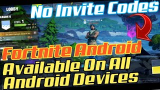 How To Download Fortnite On Android *No Need Of Invite Only CompatibleDevices* #ForniteAndroid