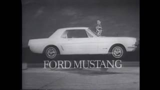 12 Awesome Ford Mustang Commercials from 1964