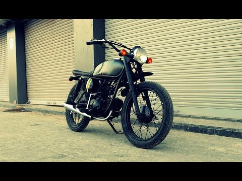 Hero Honda CD Deluxe 'Tracker Modified' by Pune-based Ayas Custom Motorcycle