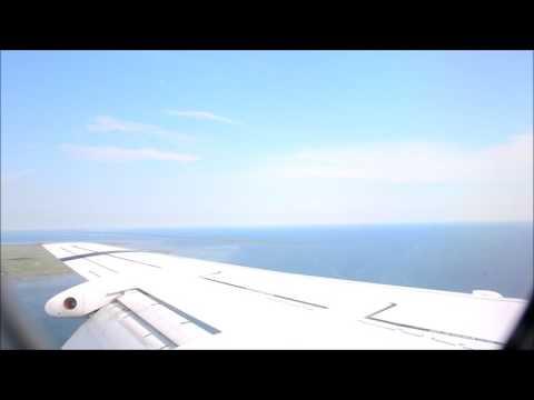 Landing at Copenhagen Airport, Kastrup, Denmark