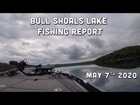 Bull Shoals Lake Fishing Report | Early May 2020 | Del Colvin