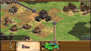 【AoC 4v4】 こっこ内戦 111003-0100 (720p) Age of Empires II