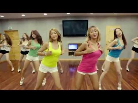 [Dance Practice] SISTAR(씨스타)_Touch My Body_안무연습 Ver.