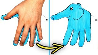 33 FUN AND COOL DRAWING TRICKS YOU SHOLUD KNOW