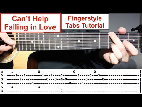 Can\'t Help Falling in Love - Elvis Presley | Easy Fingerstyle Tabs ...
