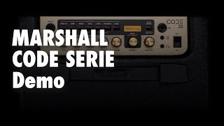 Marshall CODE Produkt Demo deutsch