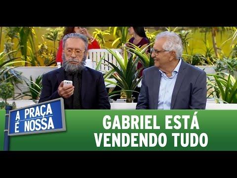 A Praça é Nossa (19/05/16) - Gabriel está vendendo tudo