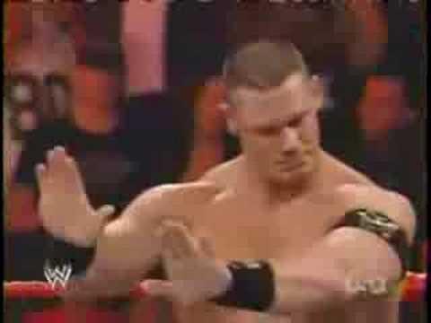 WWE Jeff Hardy Vs John Cena 1/2