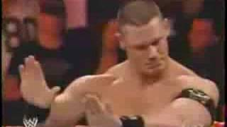WWE Jeff Hardy Vs John Cena 1/2