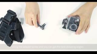 How To Use APEMAN A80 Action Cam Accessories