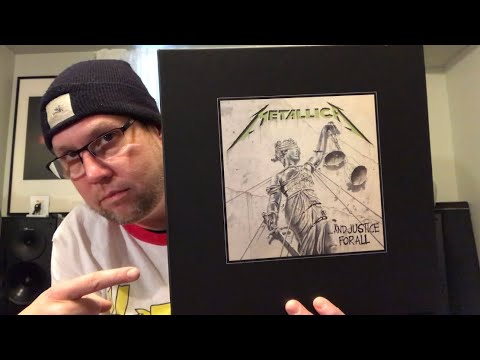 """Unboxing - Metallica : """"And Justice For All"""" Super Deluxe Box Set Mp3"""