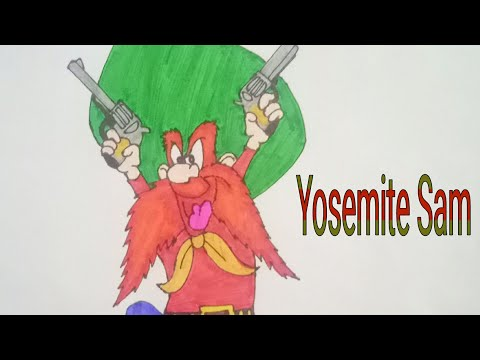 How To Draw Yosemite Sam (Looney Tunes) Step By Step! By Mayur Bansal
