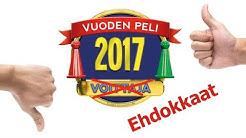 Vuoden peli 2017 Ehdokkaat