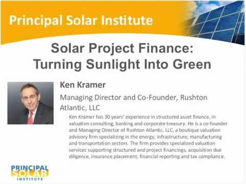 Solar Project Finance: Turning Sunlight Into Green