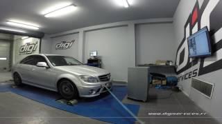Mercedes C 63 AMG 457cv AUTO Reprogrammation Moteur @ 482cv Digiservices Paris 77 Dyno