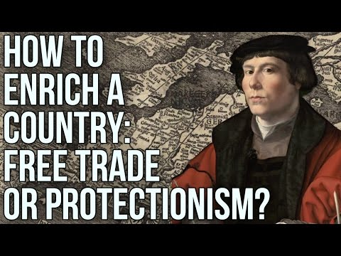 How to Enrich a Country: Free Trade or Protectionism?