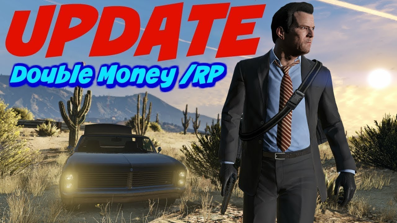 gta online update double rp and cash
