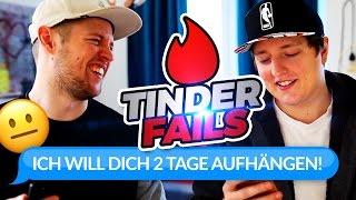 IN SCHLAFZIMMER AUFGEHÄNGT?! | Tinder Fails