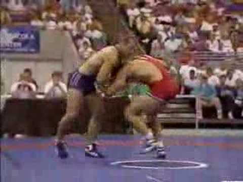 Mark Schultz v. Mike Sheets 1988 Olympic Trials, Match 1