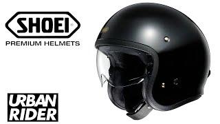 Shoei JO motorcycle helmet review by URBAN RIDER