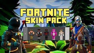 Fortnite Skin Pack for Minecraft Bedrock Edition 1.2.14.3 !!!