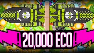 Bloons TD Battles :: LATEST GAME EVER :: 20,000 ECO!!! ROUND 109!! PART 1