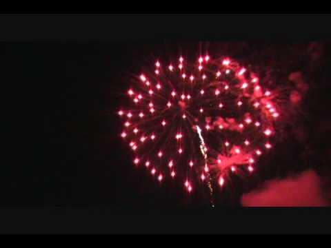 Oakland, NJ Fireworks 2010 Part 1
