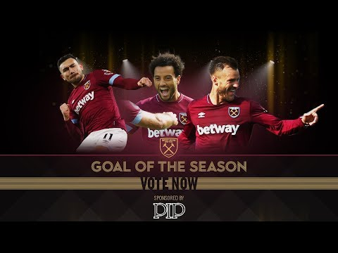 WEST HAM UNITED GOAL OF THE SEASON 2018/19