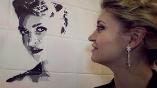 Как нарисовать портрет своей второй половинки прямо на стене?(, 2013-05-08T17:08:50.000Z)